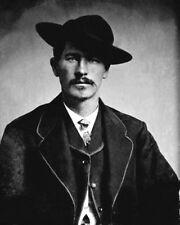 1870 Gunfighter at OK Corral WYATT EARP Vintage 8x10 Photo Old West Portrait
