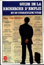 J.Y. DOURNON - GUIDE DE LA RECHERCHE D'EMPLOI ET DU CV