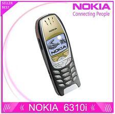 Original Nokia 6310i Mobile Phone 2G GSM Tri-band Unlocked Bluetooth Cellphones
