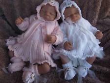 KNITTING PATTERN PRECIOUS BABY / REBORN 4 PCE DRESS SET