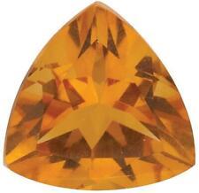 Natural Fine Orange Gold Madeira Citrine - Trillion - Brazil - Top Grade