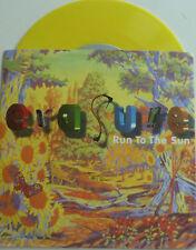 """7"""" 1994 RARE EP! ERASURE Run To The Sun / YELLOW VINYL"""