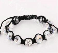 Girls Handmade Fashion Crystal&Rhinestone Shamballa Bracelet( buy 2 get 1 free)