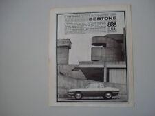 advertising Pubblicità 1966 FIAT 850 CL BERTONE