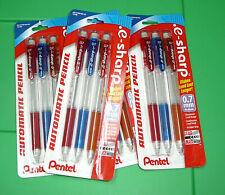 Lot Pentel e-Sharp Automatic Lead Mechanical Pencil 0.7 mm