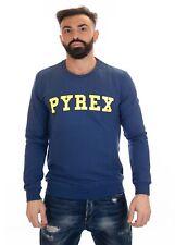 PYREX - FELPA UNISEX  - 19EPB40040 - DENIM BLUE