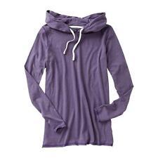 NWT: GAP Tri-Blend Long Sleeve Hooded Shirt