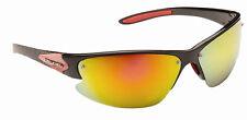 Gafas De Sol Para Hombres/Damas Envoltura Alrededor Deportes Biker Esquí Cool Tonos Naranja Espejo