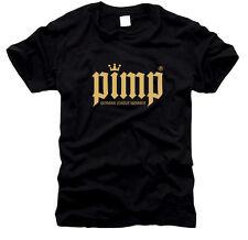 PIMP P.I.M.P. (ok) Zuhälter - Herren-T-Shirt, Gr. S bis XXXL