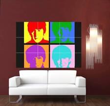 Andy Warhol les beatles Géant XL section Mur Art Poster m121