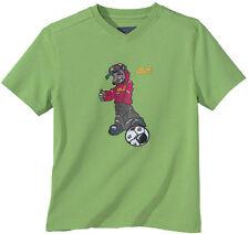 Jack Wolfskin Kids Soccer green T-Shirt Kindershirt Fußball Fußballshirt