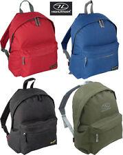 Day Sack Pack Small Back Backpack Travel Rucksack Gym School Shoulder Bag 20L