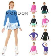 Mondor® Polartec® Long Sleeve Printed Skirt Figure Skating Competition Dress