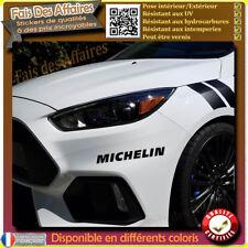 2 Stickers Autocollant Michelin sponsor tuning rallye
