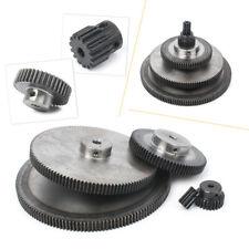 Pinion Gear 1 Mod 10T-150T Spur Gear W/ Step 45#Steel Motor Gear M4*2/M5*2 Screw