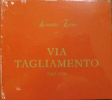 """RENATO ZERO """"VIA TAGLIAMENTO"""" cd ristampa sigillato"""