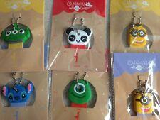 Keyring Key Cover Monsters Inc Panda Stitch Alien Minion Soft Silicon