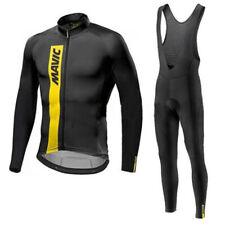 2019 Men Cycling Winter thermal fleece bib Long pants set MTB Bike sportwear Y59