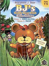 BJs Teddy Bear Club and Bible Stories: Volume 3 4 (DVD, 2006)