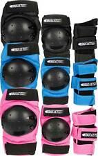Bullet Combo Standard Junior Set -Knee & Elbow Pads, Wrist Guard Various Colours