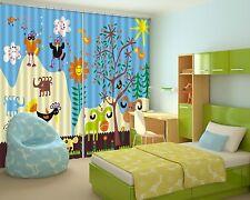 3D Cartoon 87 Blockout Photo Curtain Printing Curtains Drapes Fabric Window Au