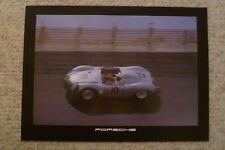 1984 Porsche RSK Spyder Showroom Advertising Poster