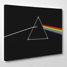 Pink Floyd - Framed Canvas Art Print - Rock Music Band London