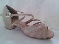 Ladies Latin Dance Shoes Line Salsa Jive WCS UK 3 - 8