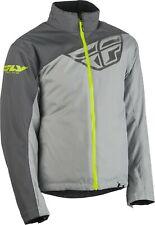 Fly Racing Aurora Mens Snow Jacket Charcoal/Gray/Hi-Vis