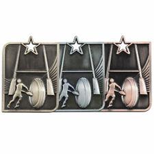 CENTURIAN étoile médaille RUGBY gratuite GRAVURE avec ruban mm15008