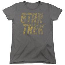 STAR TREK SCHEMATIC LOGO T-Shirt Womens' Short Sleeve Jersey