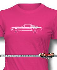 Ford Shelby Mustang GT350 1965 Camiseta para mujer - VARIOS COLORES Y Tamaños