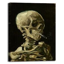 Van Gogh scheletro design quadro stampa tela dipinto telaio arredo casa