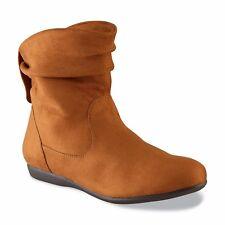 Joe Boxer Women's Chestnut Brown River 30603 Slouch Booties Bootie Boots