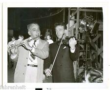 ORIGINAL B&W WARNER BROS 4x5 PHOTO DANE CLARK WHIPLASH MOVIE SET 1940's #139