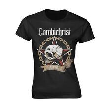 Combichrist 'Skull' Girlie T shirt - NEW