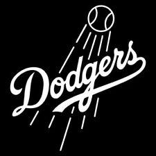 LA Dodgers Logo Decal Car Window Sticker - Various Colors & Sizes