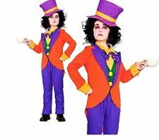 Ragazzi BAMBINO Mad Hatter Costume World Book Day Fairytale Costume Età 5-10