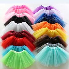 Damen Tüllrock Ballett Kleider Mini Röcke Einheitsgröße Für S-XL Tanzenkleid
