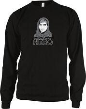 Malala Is My Hero Yousafzai Pakistani Education Nobel Women Girls Men's Thermal