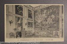 Carte postale ancienne FONTAINEBLEAU - Salon d'Angle