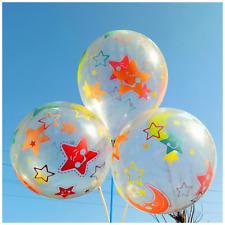 30.5cm TRANSPARENTE ESTAMPADO GLOBOS Baloon para boda cumpleaños fiesta infantil