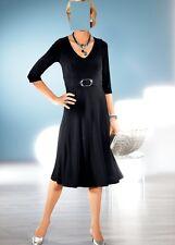 46 XL 0518842472 44 L Gr Marken Kleid mit Glanzstreifen indigo Gr Gr 42 M