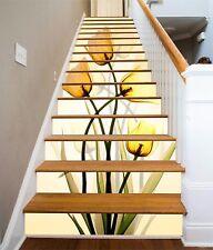 3D Tulip Flower 229 Stair Risers Decoration Photo Mural Vinyl Decal Wallpaper AU