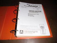 Werkstatthandbuch Diesel Benzin Motor Citroen Saxo