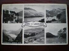 POSTCARD GEMS OF LAKELAND - 5 MULTI VIEW 1950'S