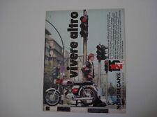 advertising Pubblicità 1971 MOTOBECANE 125  L