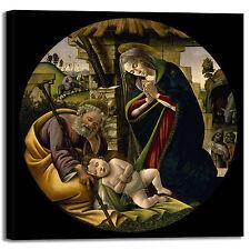 Botticelli adorazione Gesù design quadro stampa tela dipinto telaio arredo casa