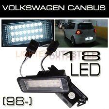 VW GOLF MK4 MK5 MK6 HIGH POWER LED NUMBER LICENSE PLATE LIGHT LAMP MODULES OEM