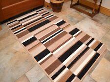 Small Large Brown Black Long Hall Runner Kitchen Floor Rugs Anti-Slip Back Mats